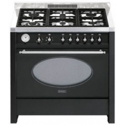 "smeg CS18A-7 Opera"" Cooker with Multifunction Oven and Gas Hob"