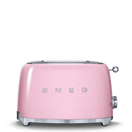 smeg tsf01pkeu tostapane 2 fette rosa. Black Bedroom Furniture Sets. Home Design Ideas
