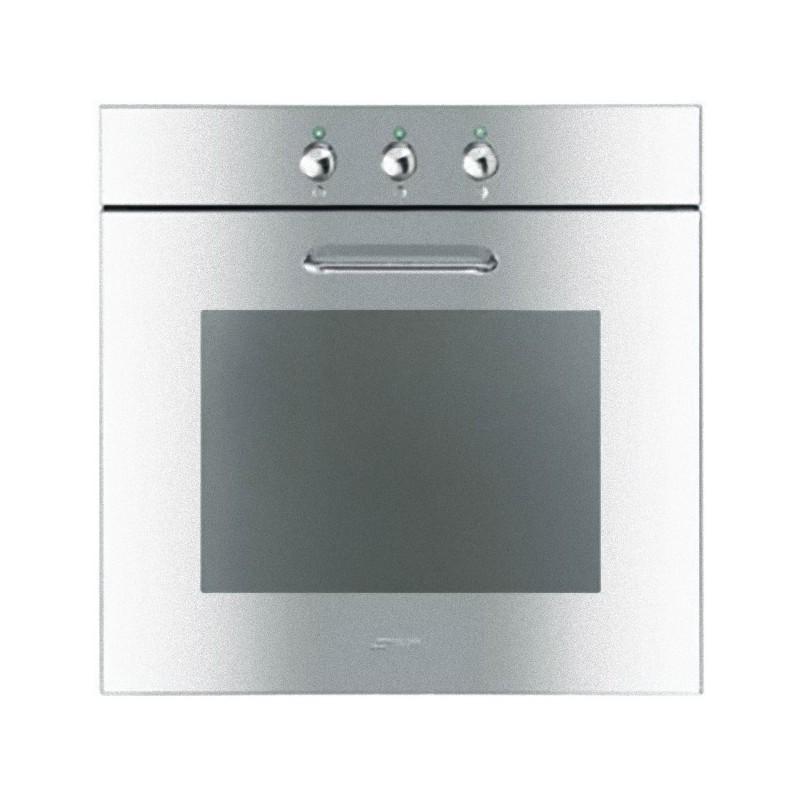 Smeg sf166x forno ventilato 60 cm inox lucido - Forno ad incasso ventilato ...