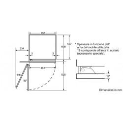 siemens Congelatore integrabile, noFrost,FI18NP31