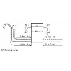 Slimline Lavastoviglie 45 cm integrabile acciaio inox S48E50N0EU