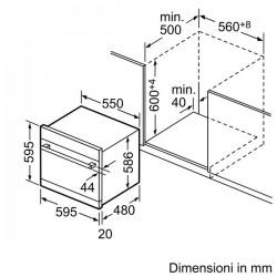 Neff S66M64M1EU Lavastoviglie Compact