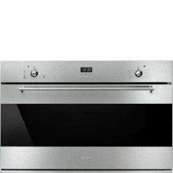 smeg sf9370gx   Static gas oven, 90 cm, stainless steel