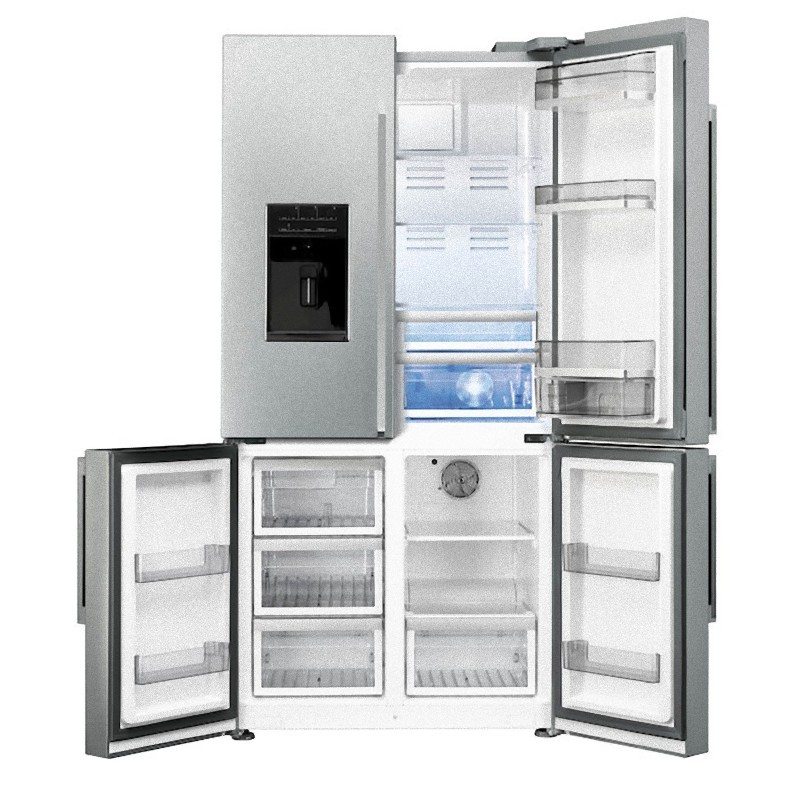 smeg fq75xped Refrigerator Side-by-side four-door