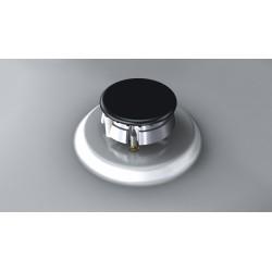 siemens  EC745QB80E Piano a gas in acciaio 70cm. acciaio inox