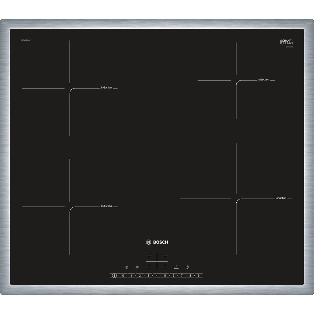 bosch Piano cottura ad induzione 60 cm pie645f17e