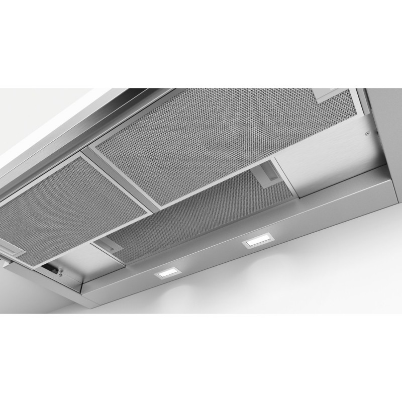 bosch dfs097a50 grigio metallizzato cappa aspirante telescopica 90 cm. Black Bedroom Furniture Sets. Home Design Ideas