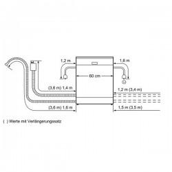bosch Lavastoviglie 60 cm ActiveWater Integrabile inox ,SMI69N05EU