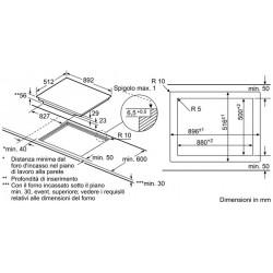 neff T55T86X2 induzione Piano Doppia FlexInduction