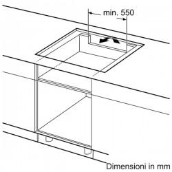 neff t58ts11n0 Piano FlexInduction, 80 cm induzione
