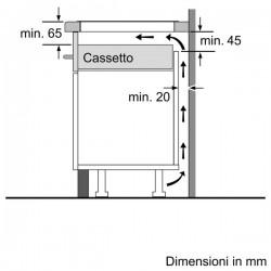 neff T57ts61n0  vetroceramica induzione 70 cm