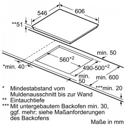 neff T43D49N2 Piano a induzione combinduction