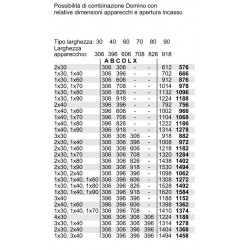 domino induzione flex N54D30N2