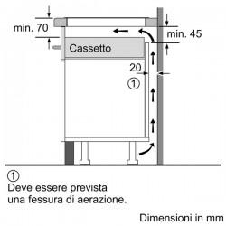 siemens eh875ku12e Induzione da 80 cm Vetroceramica,