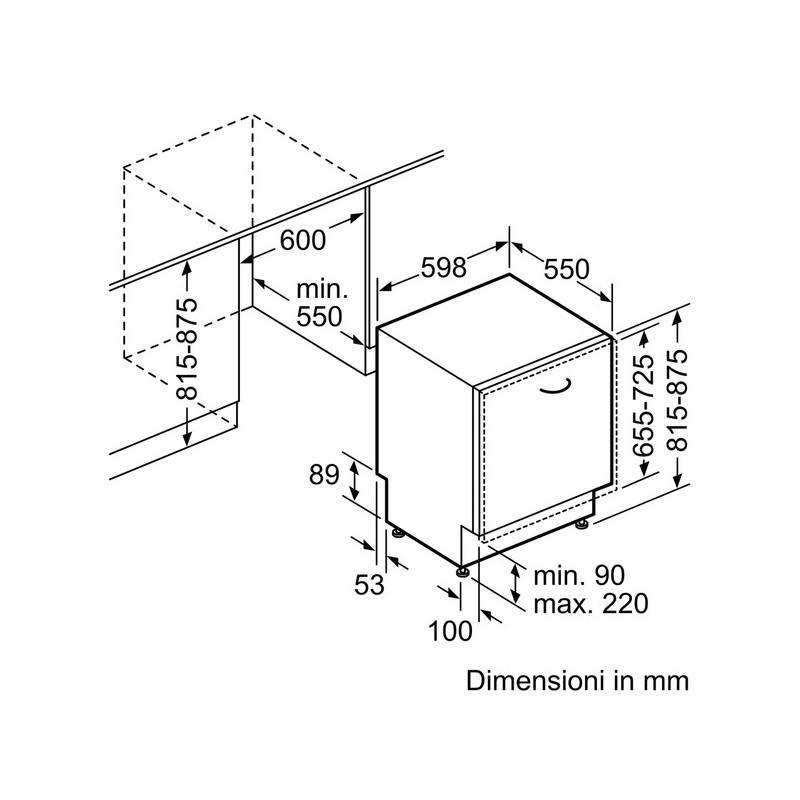 ... Siemens Sn678x26te Lavastoviglie Incasso Zeolite A+++ 10% ...