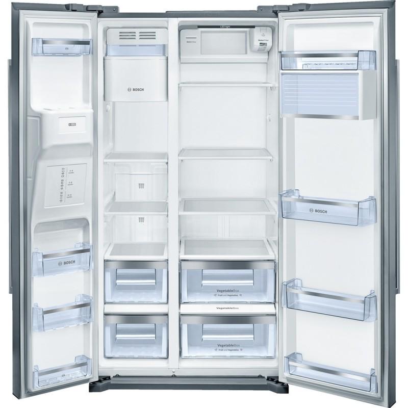 kan58a75 Frigo-congelatore Side by Side Inox door