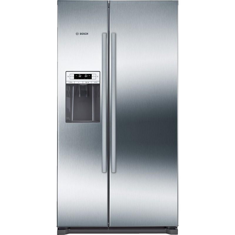 bosch kad90vi20 Frigo-congelatore Side by Side Inox look - Free ...