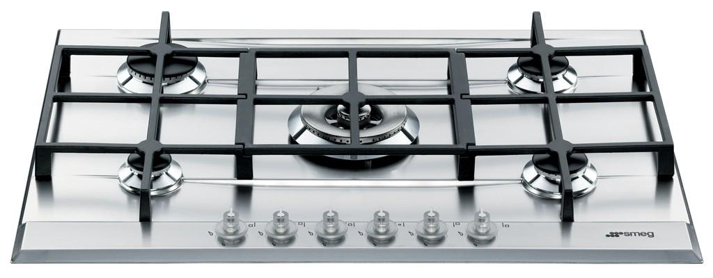smeg p1752x piano cottura 70/75 cm 72,5 cm, in acciaio inox.