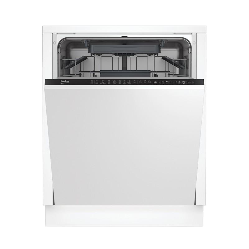 Beko DIN28221 lavastoviglie incasso a scomparsa totale larghessa 60 cm
