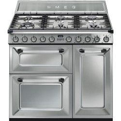 smeg tr93x Cucina Victoria, acciaio inox, 90x60.