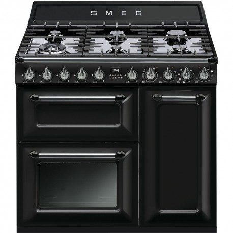 smeg TR93BL Cucina Victoria, nero lucido