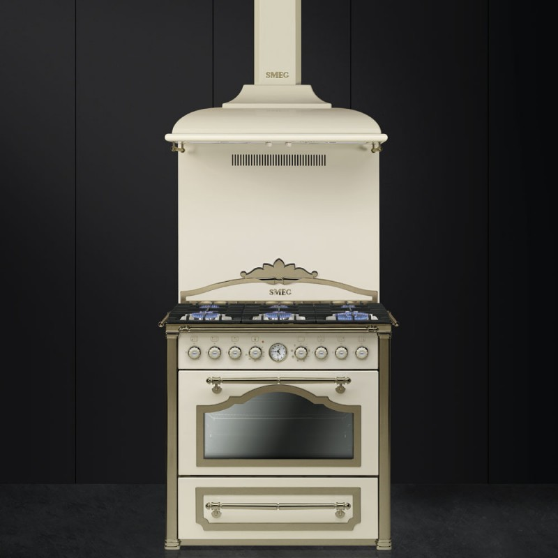 Smeg cc9gpo cortina cooker cream dueg store - Smeg cappe cucina ...