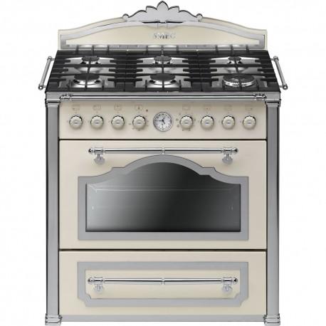 """smeg CC9GPX Cortina"""" cooker, cream Energy"""