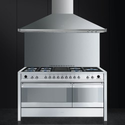 smeg A5-81 Cooker with Gas Hob with Electric Griddl