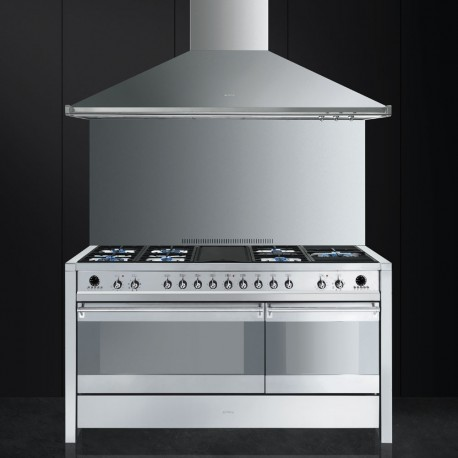 smeg a5-8 Cooker with Gas Hob with Electric Griddl
