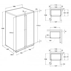 smeg FF354LX Congelatore verticale monoporta, acciaio inox antimpronta