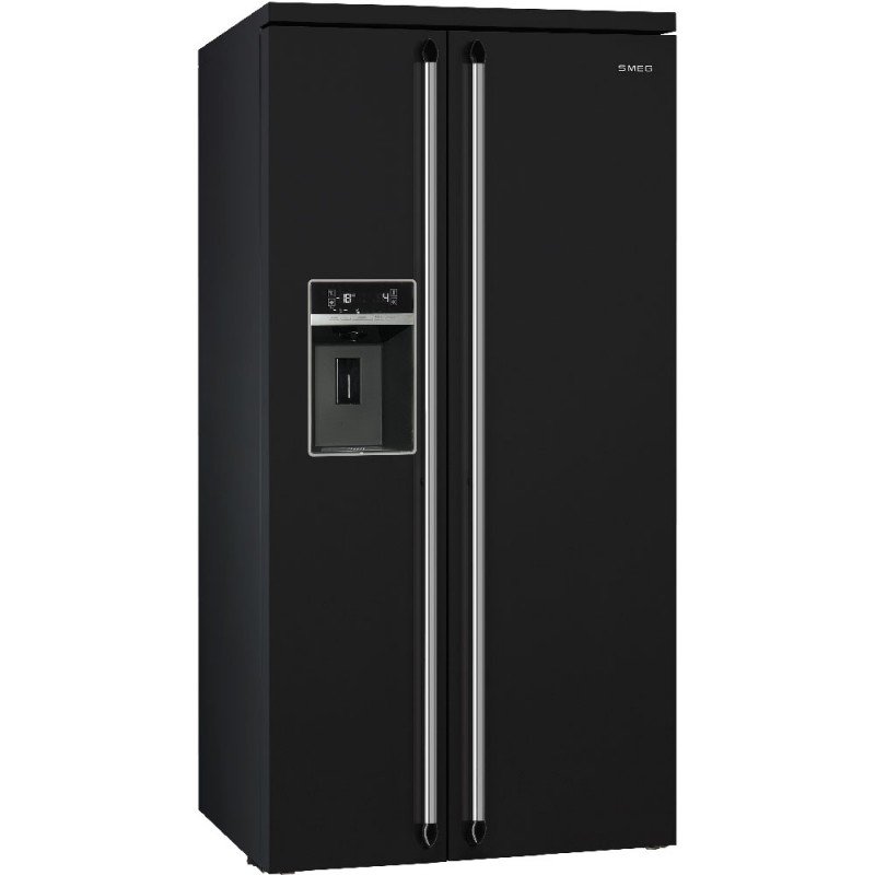 smeg sbs963p side by side refrigerator freezer american refrigerators dueg store vendita. Black Bedroom Furniture Sets. Home Design Ideas
