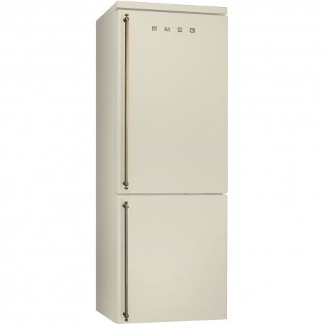 smeg fa8003po Combined Refrigerator Colonial, 70 cm, cream