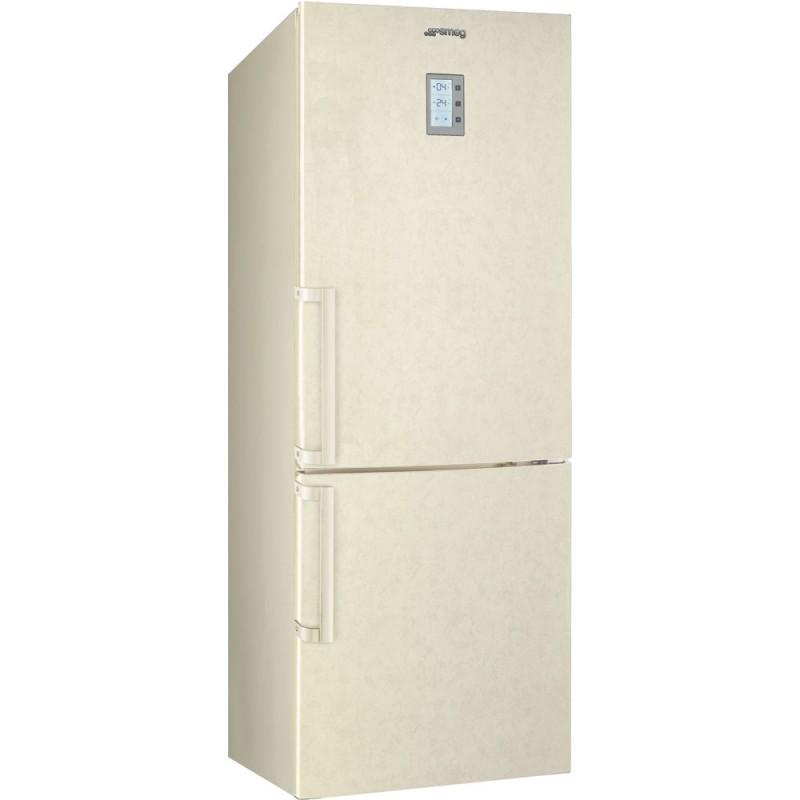 smeg fc40mne4 frigorifero combinato 70 cm effetto marmo