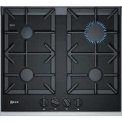 neff T26TA49N0 60 cm, Gas hob with integrated controls, Ceramic