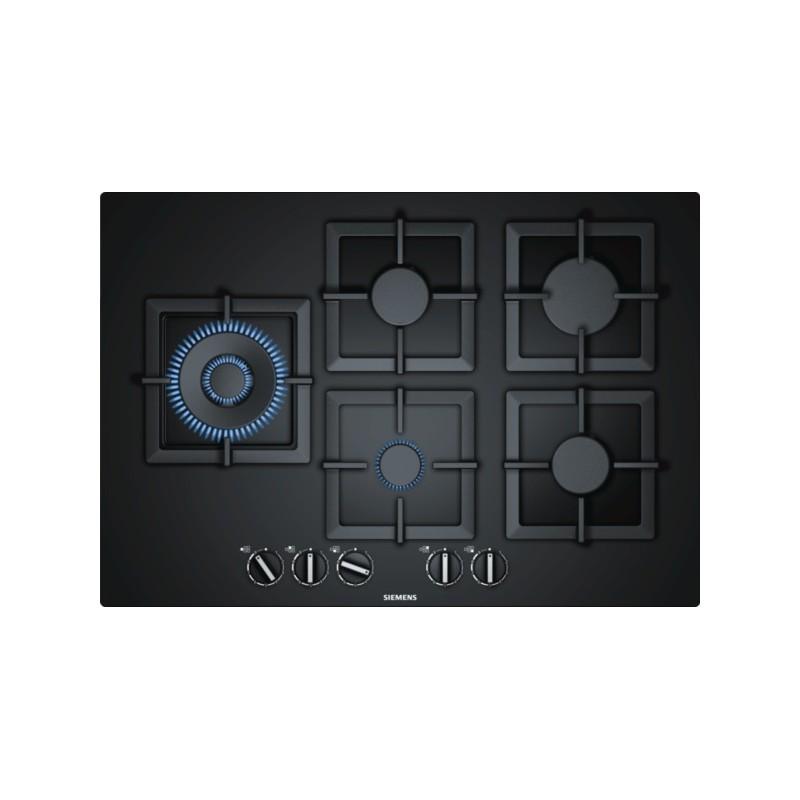 Ep7a6sb20 Siemens Piano Cottura A Gas Di 75 Cm Di Larghezza Vetro