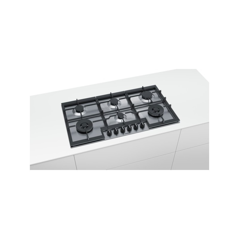 siemens EC9A5TB90 Piano cottura a gas di 90 cm - Piani Cottura ...