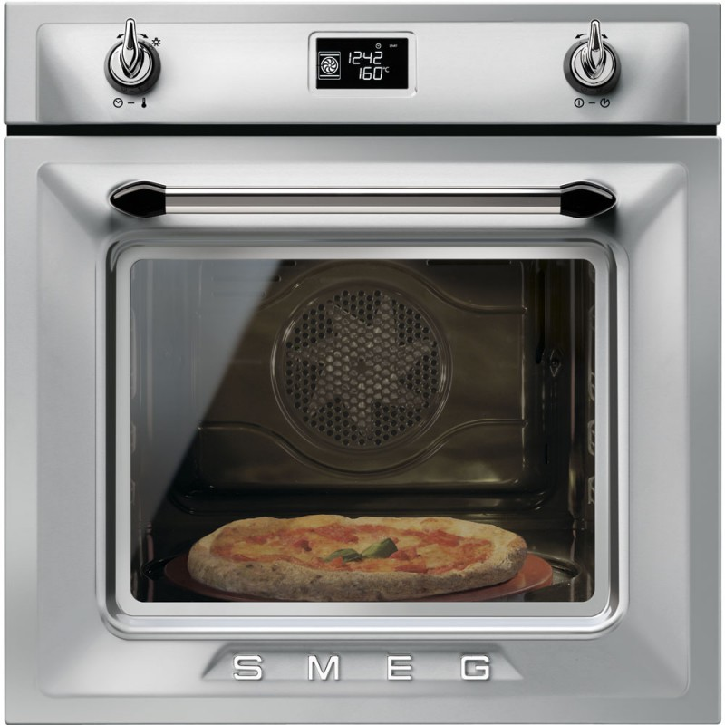 Smeg Sfp6925xpze1 Pizza Oven Pyrolytic 60 Cm Stainless Steel