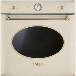 smeg SF855AVO Forno ventilato, 60 cm, avena, Estetica Coloniale.