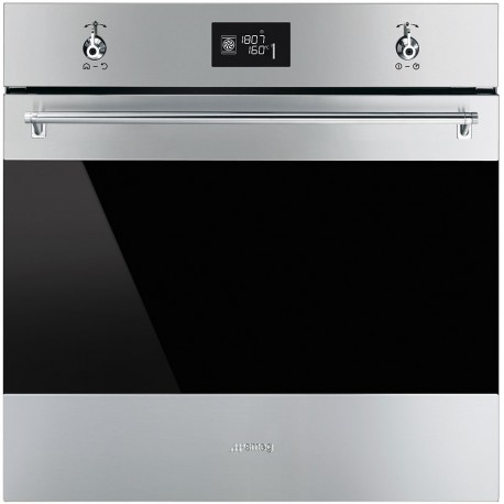 smeg sfp6390xe forno termoventilato pirolitico 60 cm inox. Black Bedroom Furniture Sets. Home Design Ideas