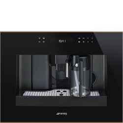 smeg CMS4601NR Automatic coffee machine, black glass