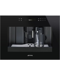 smeg CMS4601NX Automatic coffee machine, black glass
