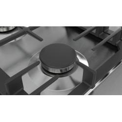 bosch  PCQ715B90E Piano cottura 70cm. inox - griglie ghisa acciaio inox