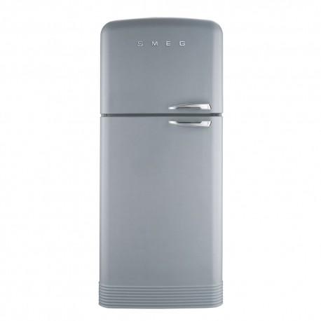 smeg FAB50XS 50's Style Refrigerator-freezer Silver,
