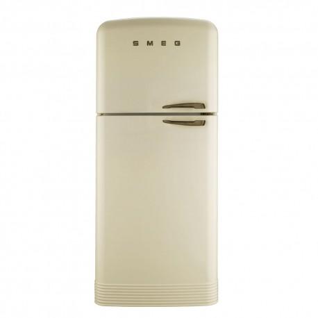 smeg FAB50PS 50's Style Refrigerator-freezer Cream,