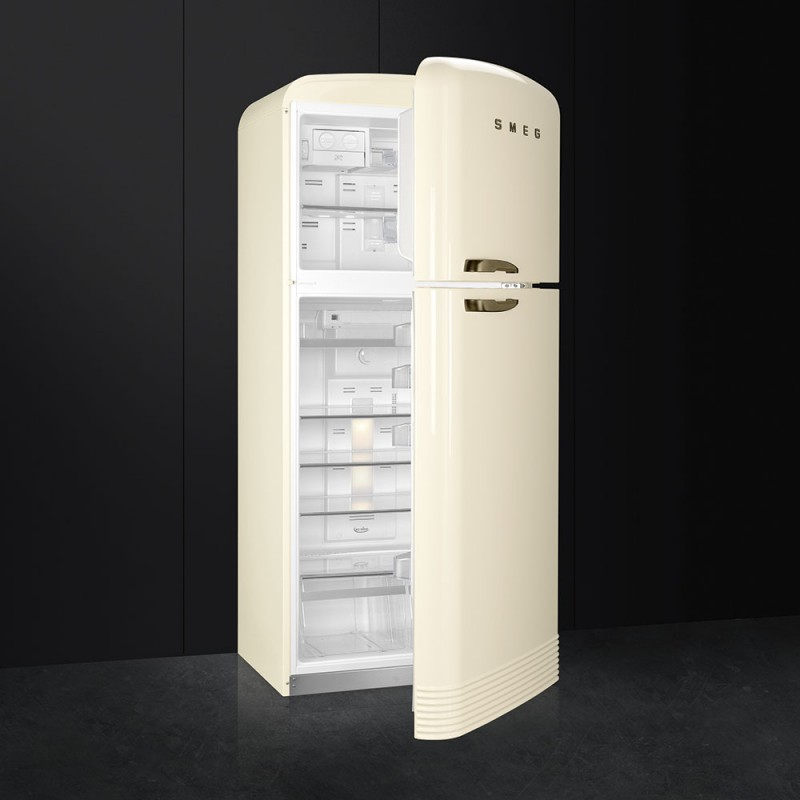 smeg fab50lcrb frigorifero due porte anni 39 50 panna frigo colorato. Black Bedroom Furniture Sets. Home Design Ideas