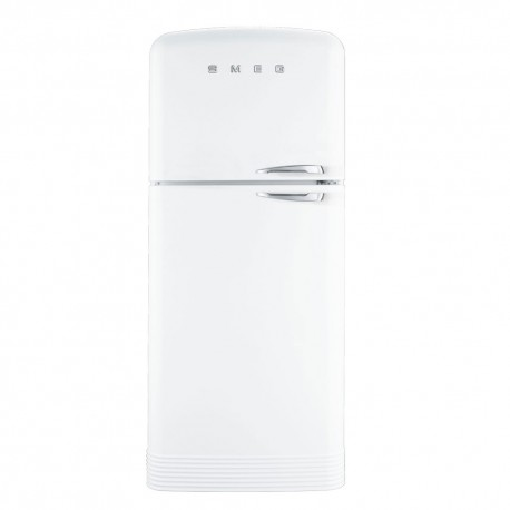 smeg FAB50B Zweitürigen Kühlschrank 50er, weiß