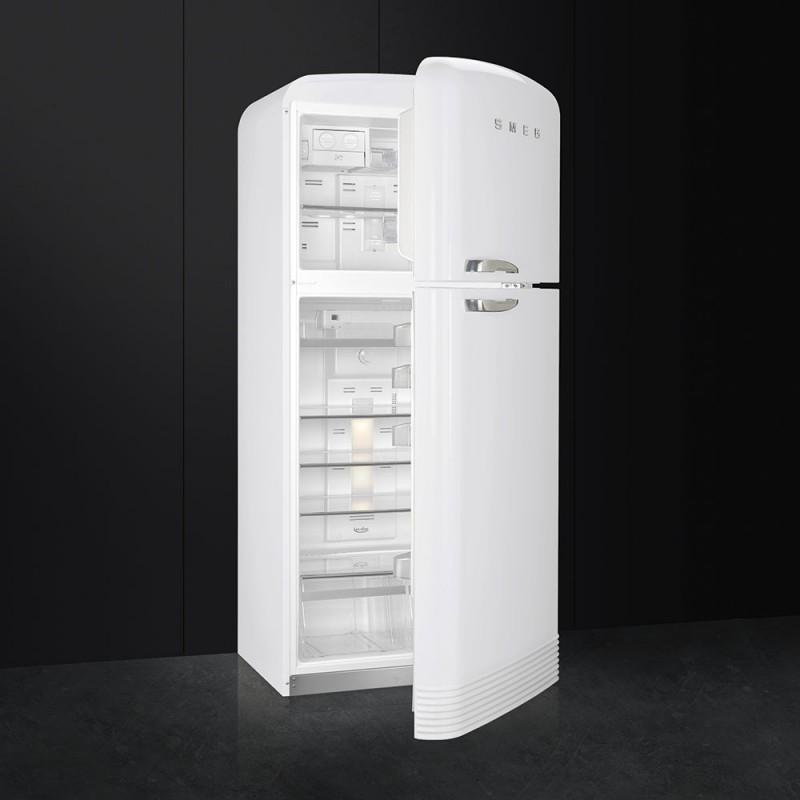 smeg fab50lwh frigorifero due porte anni 39 50 bianco frigo colorati. Black Bedroom Furniture Sets. Home Design Ideas