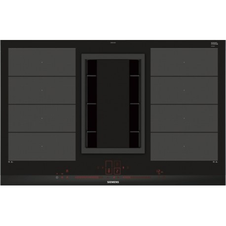 siemens EX875LX34E piano cottura ad induzione con cappa integrata