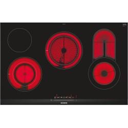 siemens ET875FC17D vetroceramica 80 cm Profili laterali in acciaio inox