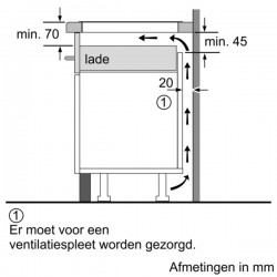 neff  T58BD20N0  piano cottura induzione 80 cm